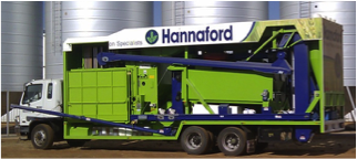 Seed treatment truck